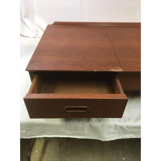 1960s Vintage Danish Mid-Century Floating Wall Desk by George Tanier for Sibast Mobler For Sale - Image 5 of 13