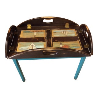 Nautical Butler Tray/Side Table