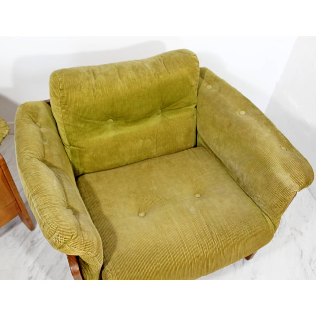 Pair of 1960s Mid-Century Modern N. Eilersen Danish Lounge Chairs For Sale - Image 9 of 12