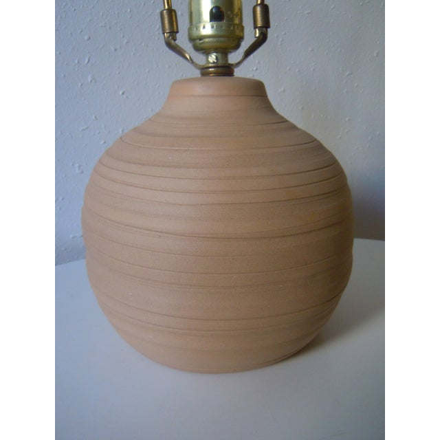 Martz Incised Table Lamp for Marshall Studios - Image 4 of 6