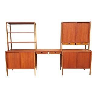 Dux Teak Danish Modern Storage / Shelf / Wall Unit For Sale
