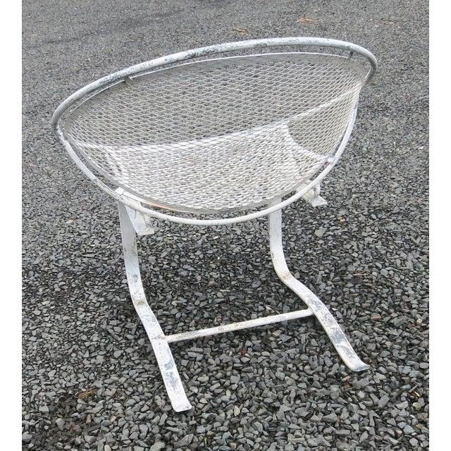 1960s 1960s Vintage Salterini Radar Spring Chair Hoop Chair For Sale - Image 5 of 7