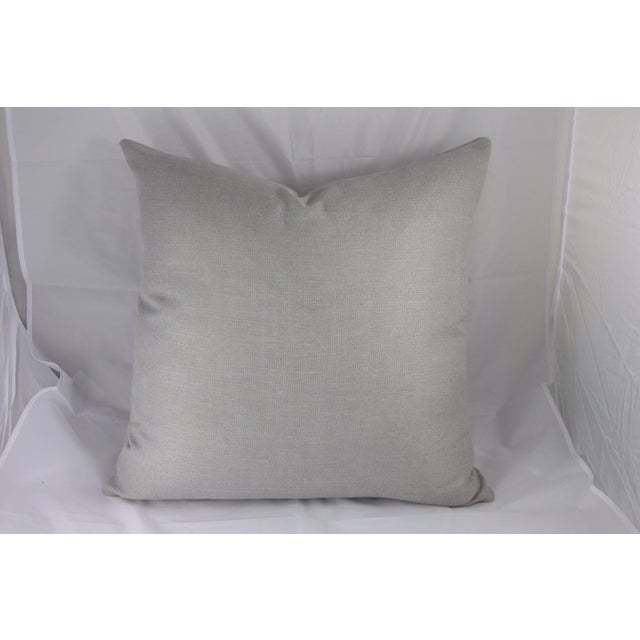 Silver Linen Pillow - Image 3 of 5