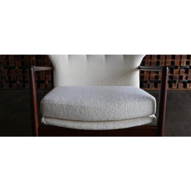 Ib Kofod-Larsen Wingback Lounge for Selig, Circa 1965 For Sale - Image 9 of 13