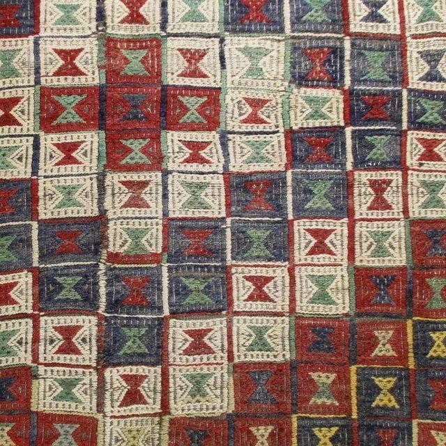 Vintage Turkish Kilim Cicim Flatweave- 5'' x 8'9'' - Image 3 of 5