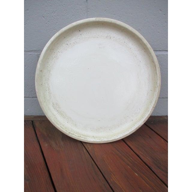 Vintage Ceramic Planter Drip Saucer - Image 8 of 8