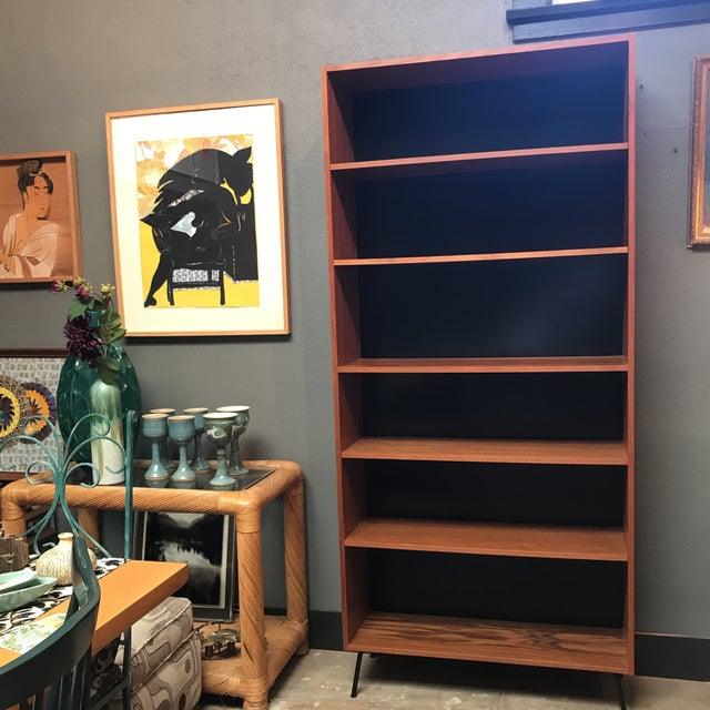 Danish Mid-Century Teak Bookcase - Image 8 of 8