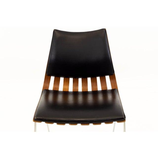 Wood Vintage Mid Century Hans Brattrud for Hove Mobler Teak Padded Scandia Chair For Sale - Image 7 of 8