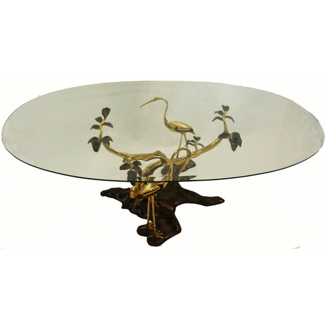 Willy Daro Vintage Bronze & Brass Coffee Table - Image 1 of 6