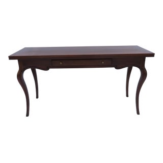 A French Provincial Console / Convertible Dining Table John Stuart / Mount Airy For Sale