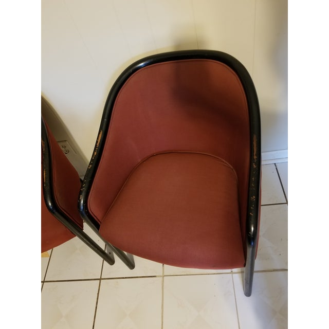 Mid 20th Century Vintage Mid Century Modern Ward Bennett Chairs- A Pair For Sale - Image 5 of 12