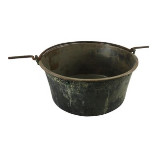 French 19th Century Copper Cauldron