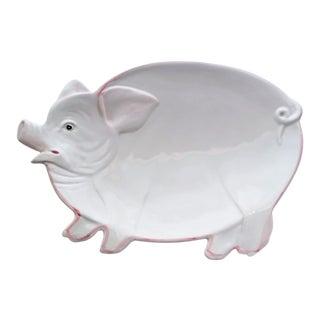 Vintage Italian Pig Dish/Platter For Sale