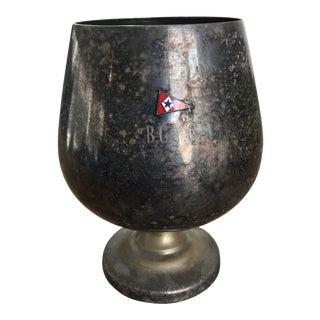 Vintage Silver Bcyc Yacht Club Trophy Cup For Sale