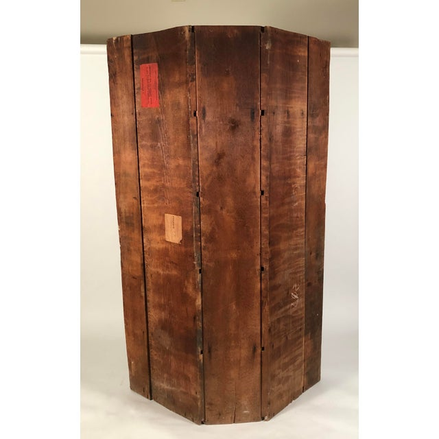 Country 19th Century New England Country Corner Cupboard C. 1840 For Sale - Image 3 of 13