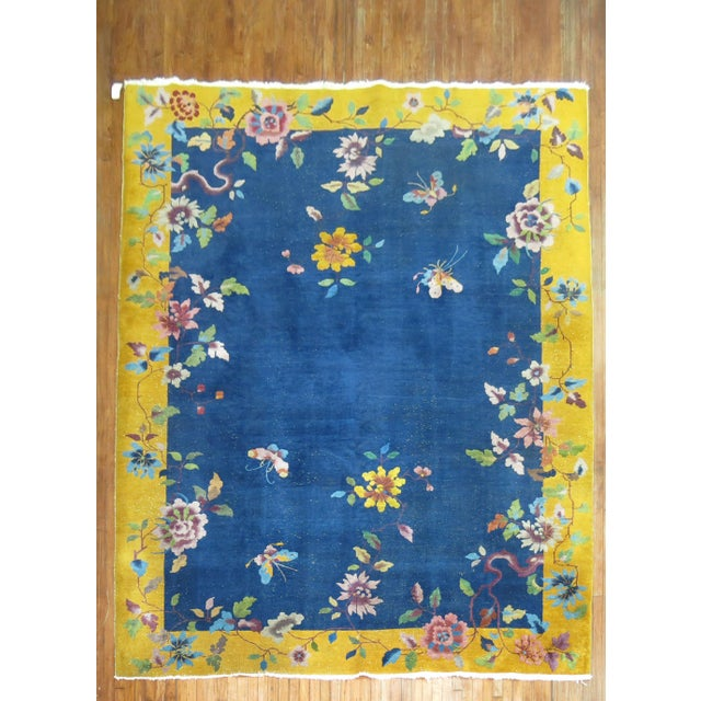 Chinese Art Deco Rug, 9' x 11'9'' - Image 9 of 9
