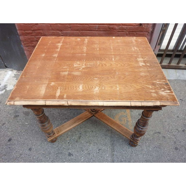 1900's Antique Italian Library/Sofa Table - Image 5 of 5