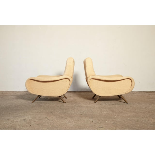 Original Marco Zanuso Lady Chairs, Arflex, Italy, 1960s for Reupholstery For Sale - Image 10 of 10