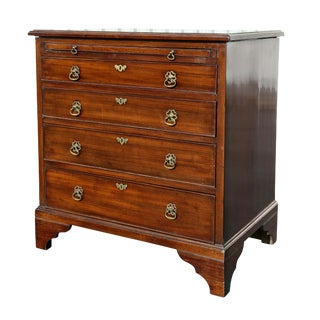 George III Mahogany Bachelors Chest of Drawers For Sale