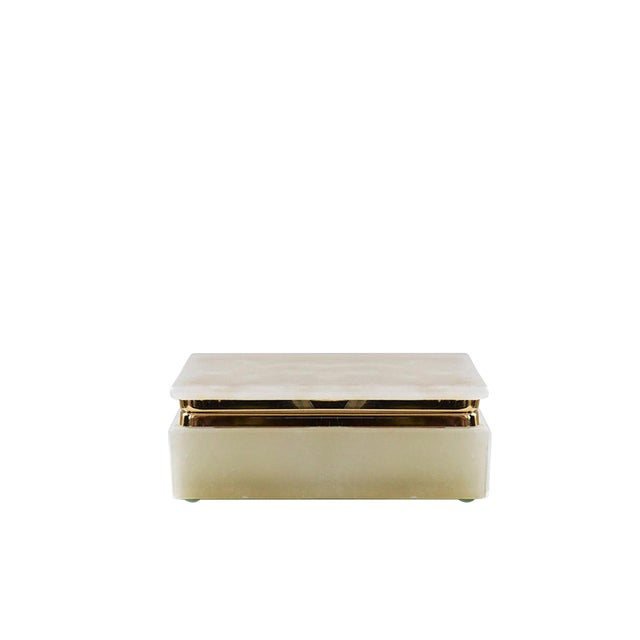 AURA LONDON Natural Oynx Box For Sale