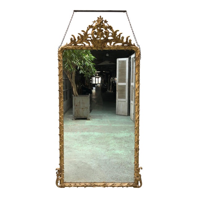 Spectacular French Mirror From the Early 19th Century For Sale