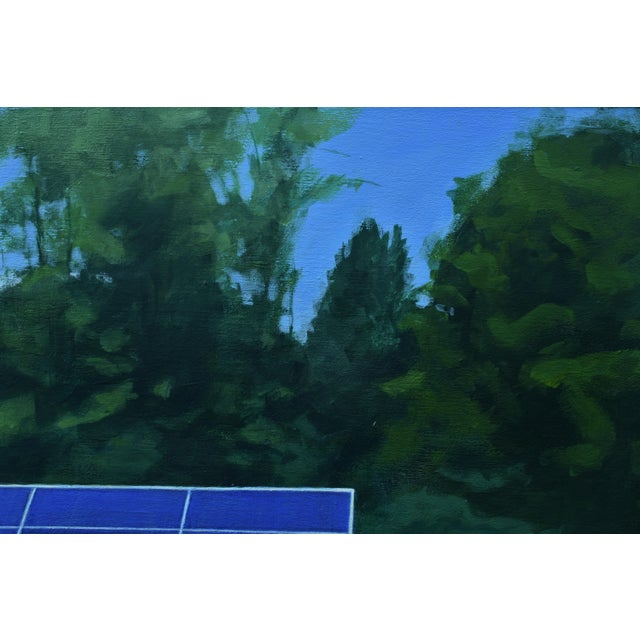 """Stephen Remick 2010s Contemporary Painting, """"Solar Panel in a Field"""" by Stephen Remick For Sale - Image 4 of 12"""