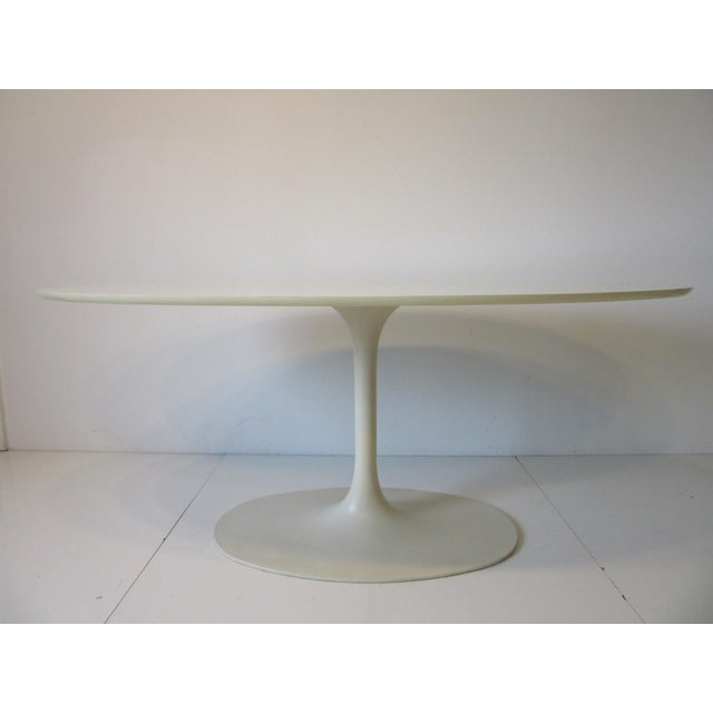 Burke Tulip Desk / Dining Table for Burke International For Sale In Cincinnati - Image 6 of 11