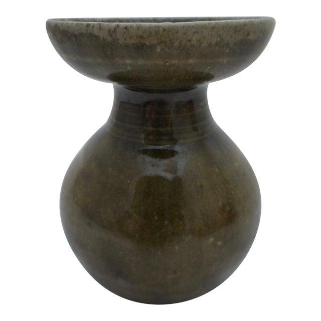 Signed W M Hewitt English Pottery Bud Vase Chairish