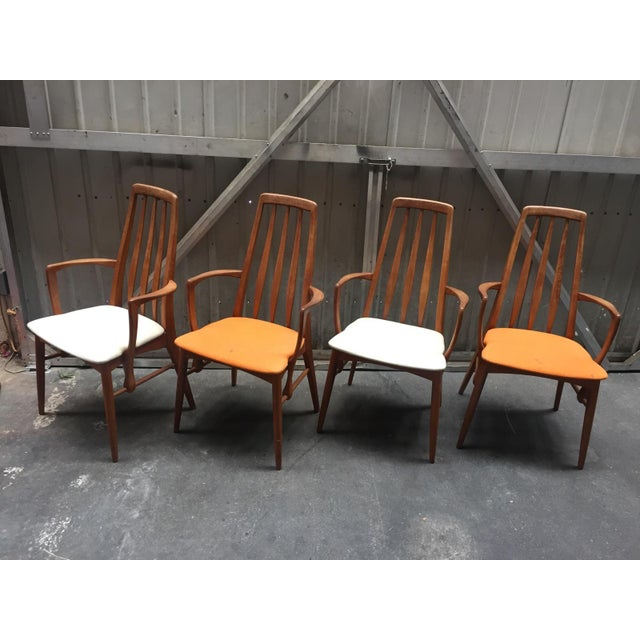 Niels Koefoed for Hornslet Dining Chairs - Set of 4 - Image 3 of 5