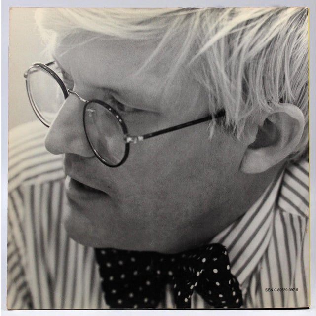 Modern Hockney Paints the Stage, First Edition For Sale - Image 3 of 11