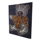 Image of Mid Century Modern String Art of Teddy Bear For Sale