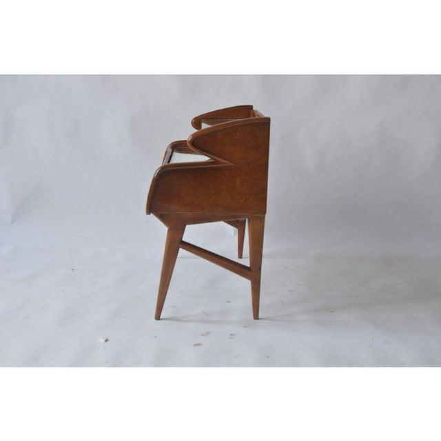Brown Pair of 1950s Italian Nightstands For Sale - Image 8 of 10