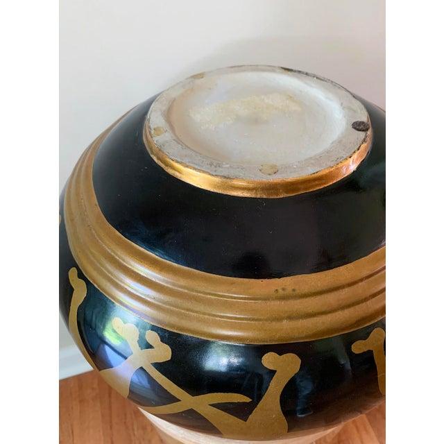 Vintage Panther Motif Pottery Vase For Sale In Nashville - Image 6 of 9