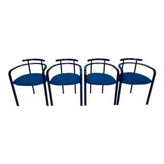 Italian Postmodern Dining Chairs - Set of 4 For Sale
