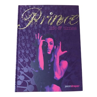 Prince Life and Time Book For Sale