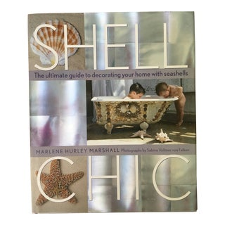 Shell Chic: The Ultimate Guide to Decorating Your Home With Seashells Hardback Book For Sale