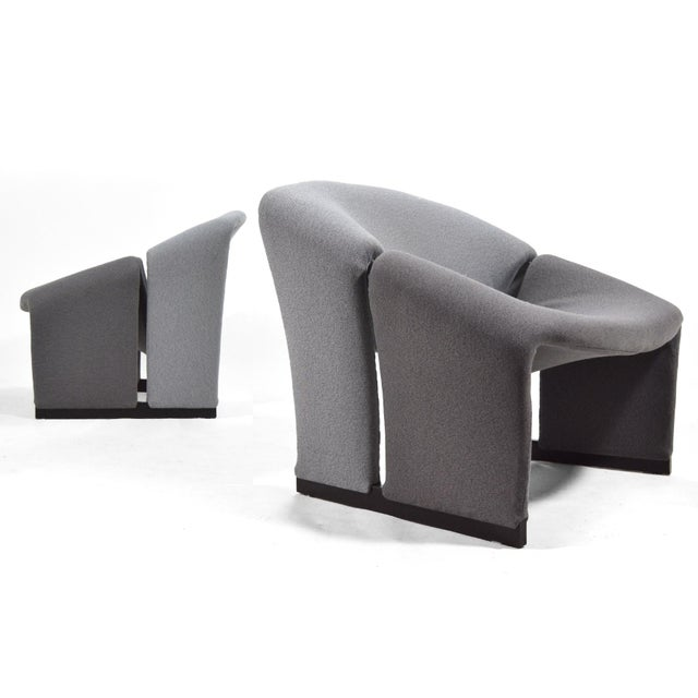 Pair of Pierre Paulin Model F580 Lounge Chairs by Artifort For Sale - Image 12 of 12