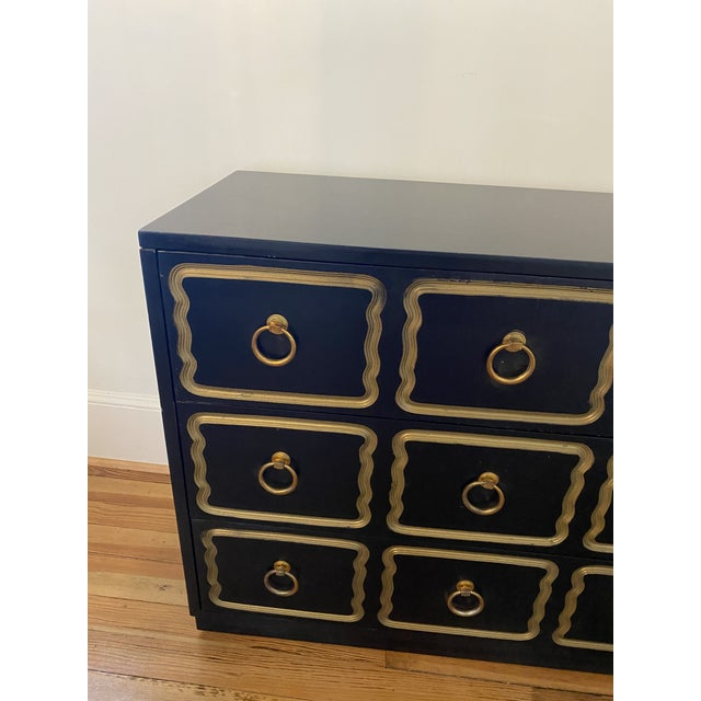 Mediterranean Dorothy Draper Bunching Chest For Sale - Image 3 of 13