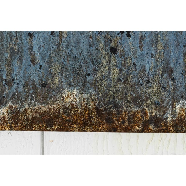 Industrial Steel Art Panel For Sale - Image 10 of 11