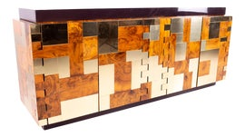 Image of Newly Made Brass Credenzas and Sideboards
