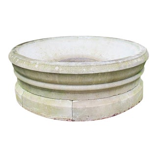 Simple Chic Stone Fountain For Sale