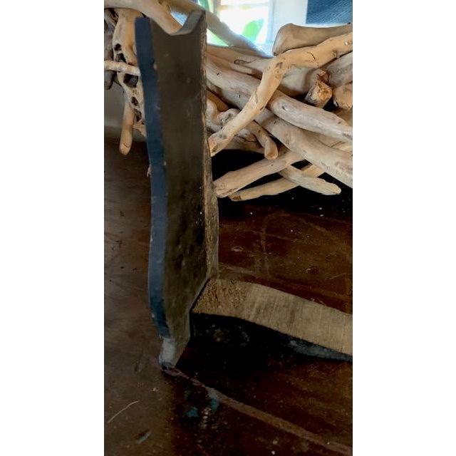 Vintage Wood Black Cat Door Stop, Book End For Sale - Image 4 of 6