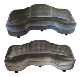 Image of Newly Made Green Sofas