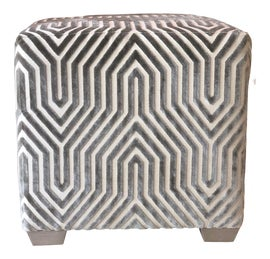 Image of Upholstered Ottomans