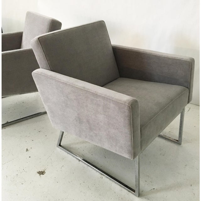 Milo Baughman Lounge Chairs- A Pair - Image 4 of 10