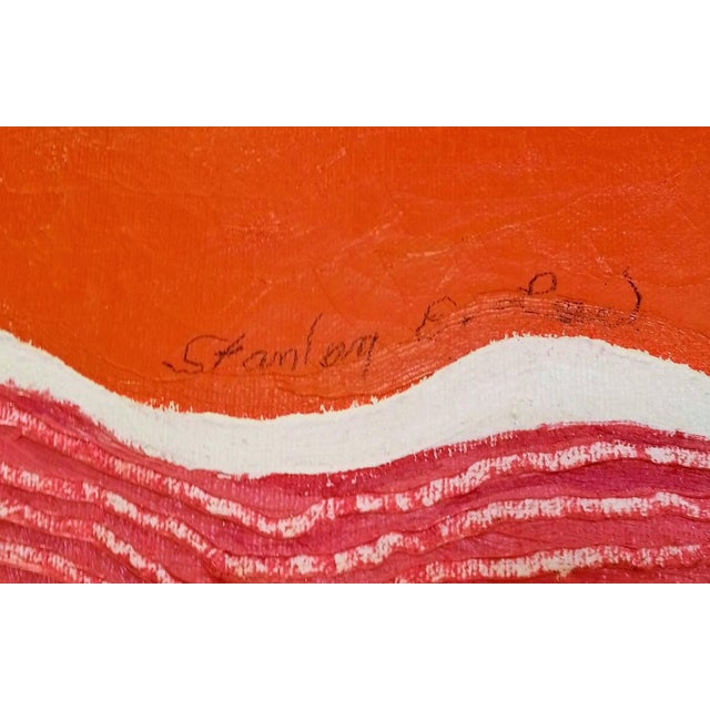 """Modern Stanley E. Lea, """"Untitled"""" For Sale - Image 3 of 7"""