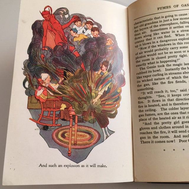 """""""The Flame Fiend"""" 1921 Hallie L. Jameson Book For Sale In New York - Image 6 of 10"""