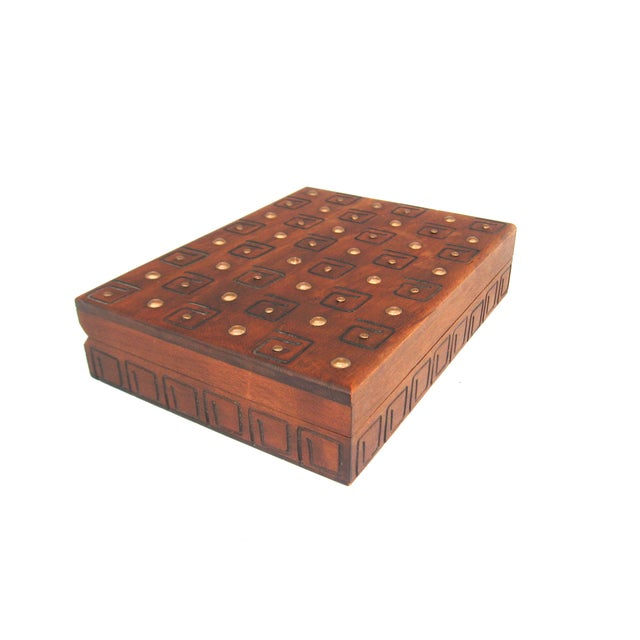 Hand Carved Trinket Box - Image 5 of 6