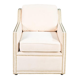Sarreid LTD White Crawford Chair