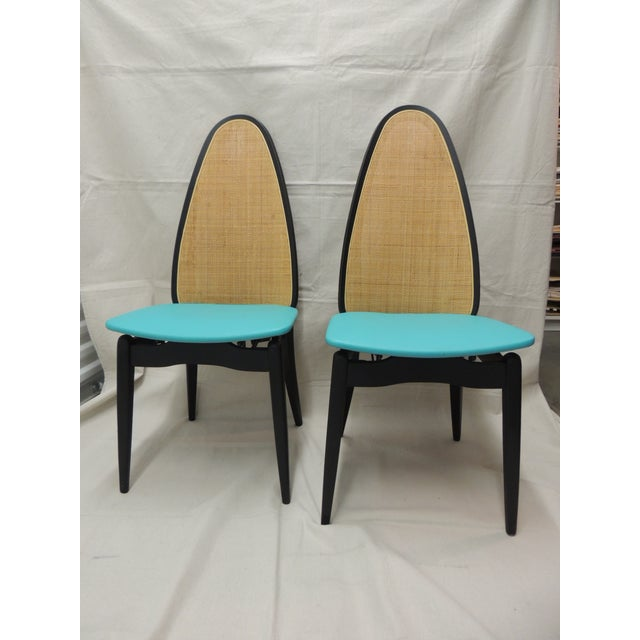 Stakmore Mid-Century Folding Chairs - A Pair - Image 2 of 8